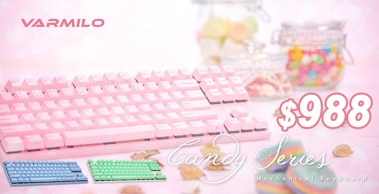 Varmilo Candy Series