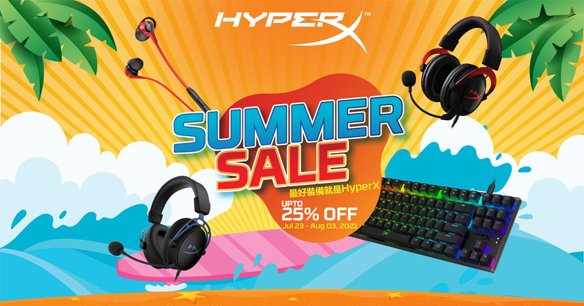 HyperX Summer Sale
